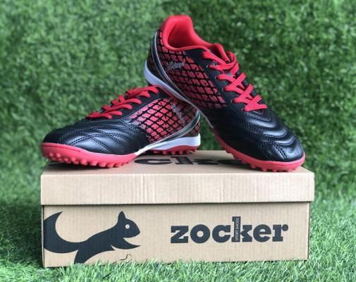 Giày đá bóng Zocker ZTF 18VT (Black/Red)