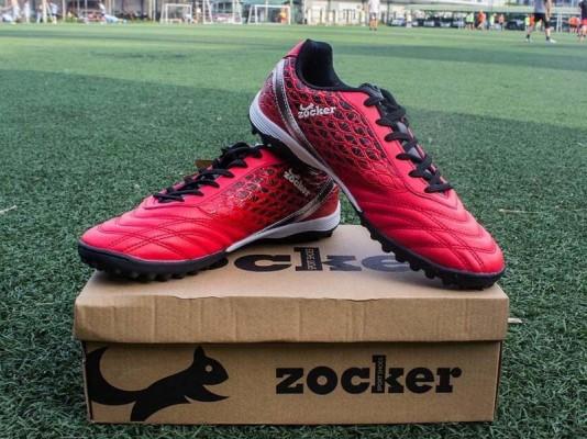 Giày đá bóng Zocker ZTF 18VT (Red/Black) dành cho trẻ em