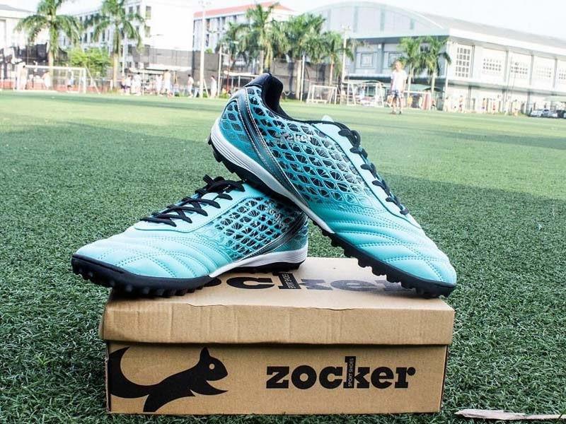 Giày đá bóng Zocker ZTF 18VT (Lake Blue/Black)